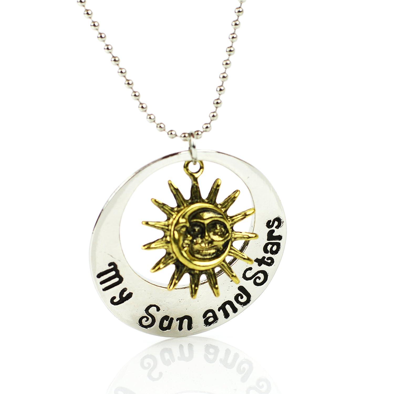 Khal Khaleesi luna de mi vida mi sol y las estrellas Colgante Juego de Tronos Collar Generic