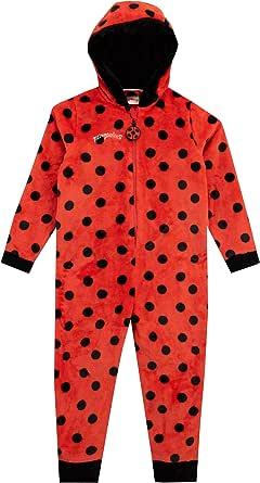 Miraculous Pijama Entera para niñas Ladybug