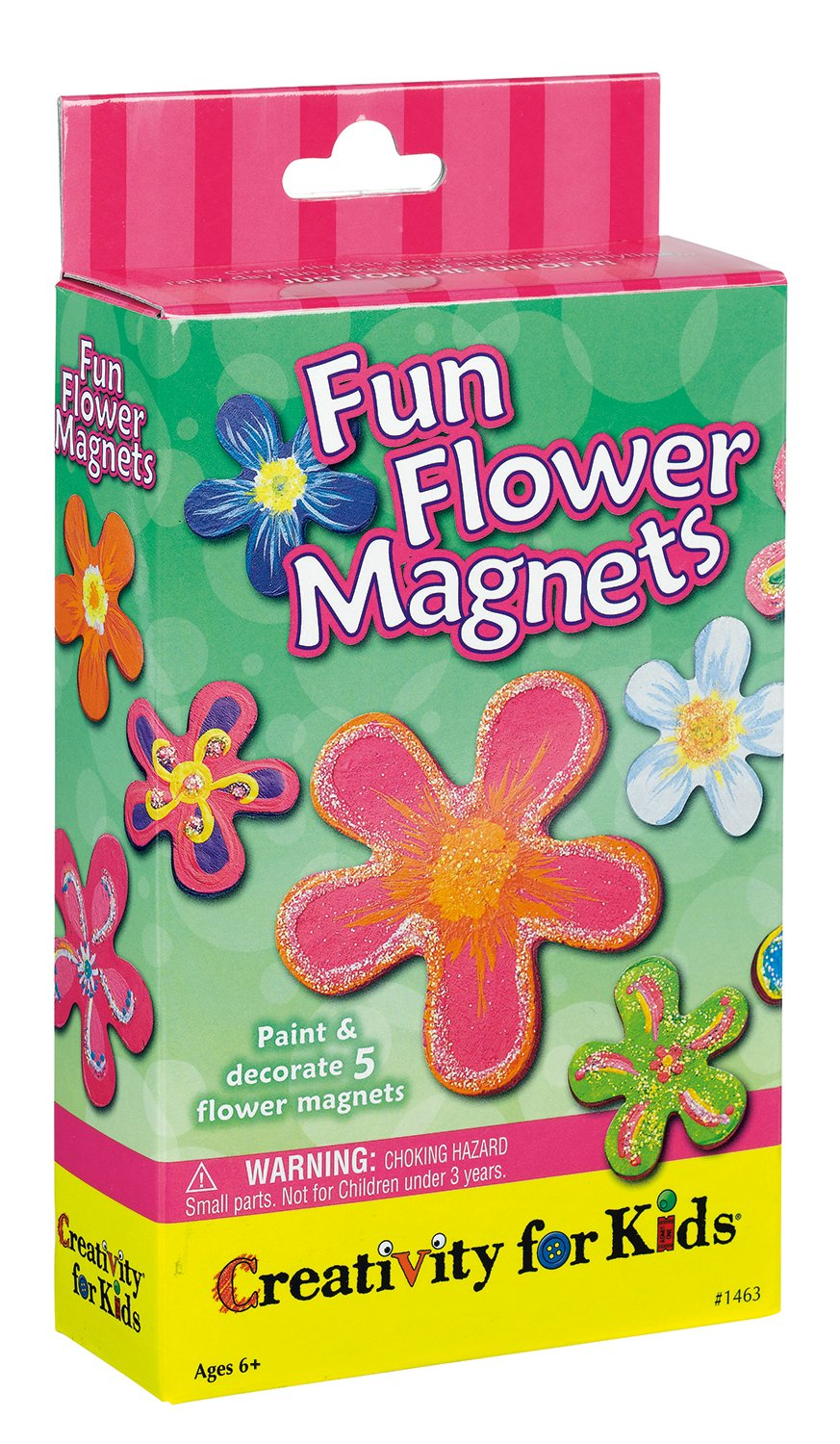 Amazon Com Creativity For Kids Fun Flower Magnets Toys Games