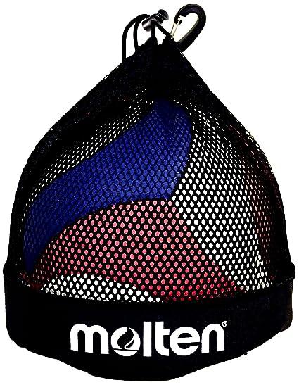 de3bbf98a Amazon.com : Molten Single Volleyball/Soccer Ball Bag, Black : Baseball Ball  Bags : Sports & Outdoors