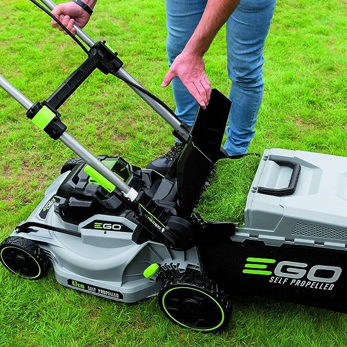 EGO LM1903E-SP - Cortacésped inalámbrico autopropulsado (47 cm, 56 V, incluye batería de 5 Ah y cargador rápido): Amazon.es: Bricolaje y herramientas