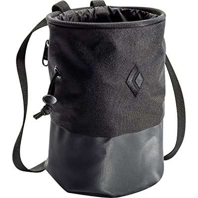 Black Diamond Mojo Zip Chalk Bag - Black Medium/Large