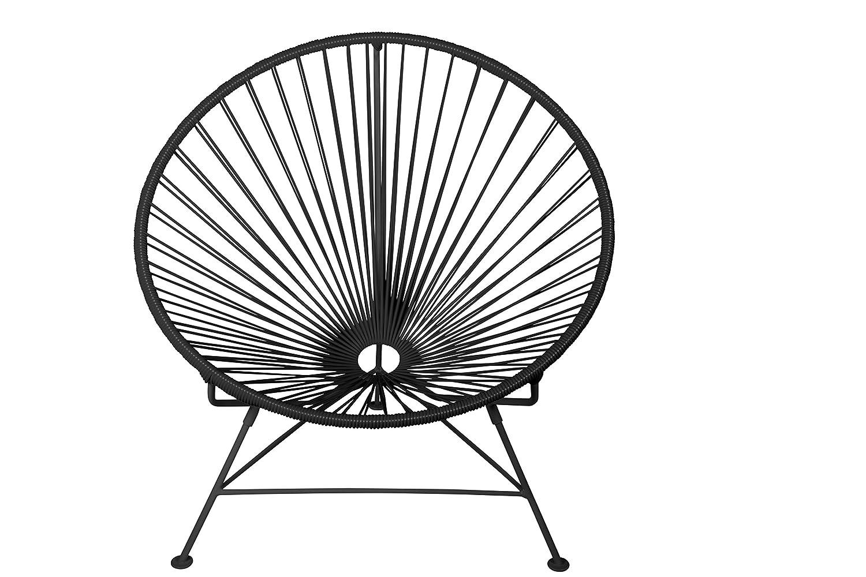 amazon innit designs innit chair black weave on black frame Brazilian Weave amazon innit designs innit chair black weave on black frame patio lounge chairs garden outdoor