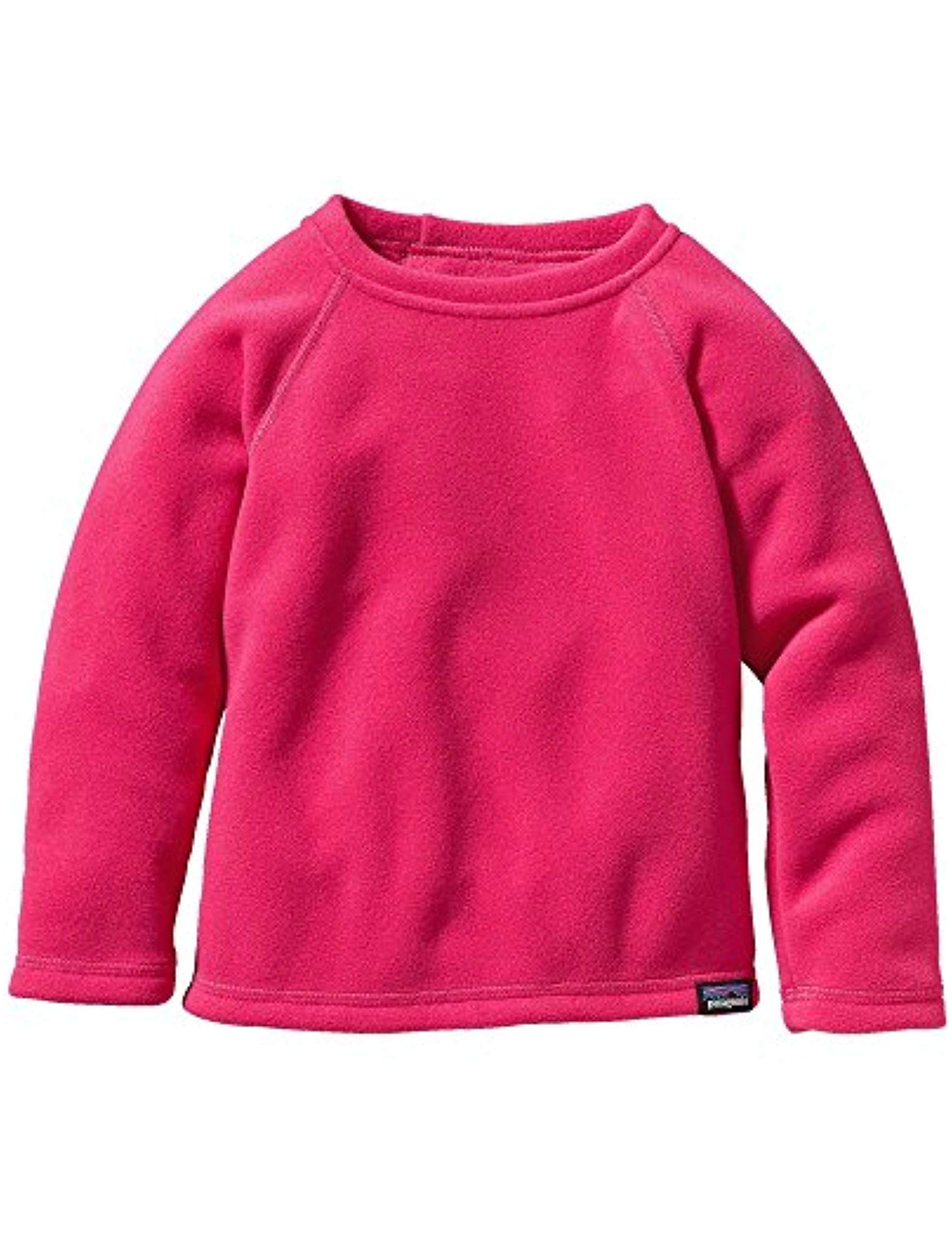 Patagonia Baby Micro D Fleece Crew 3-6 Month Pink