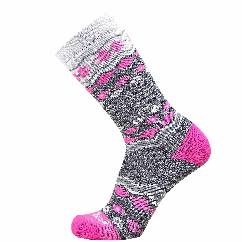 Outdoor Winter Kids Ski Socks Girls Boys Wool Warm Merino Skiing Snowboard Sock Pack