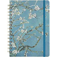 """Ruled Journal/Notebook- Lined Journal, 6.3"""" X 8.35"""", Hardcover, Back Pocket, Strong Twin-Wire Binding with Premium Paper…"""