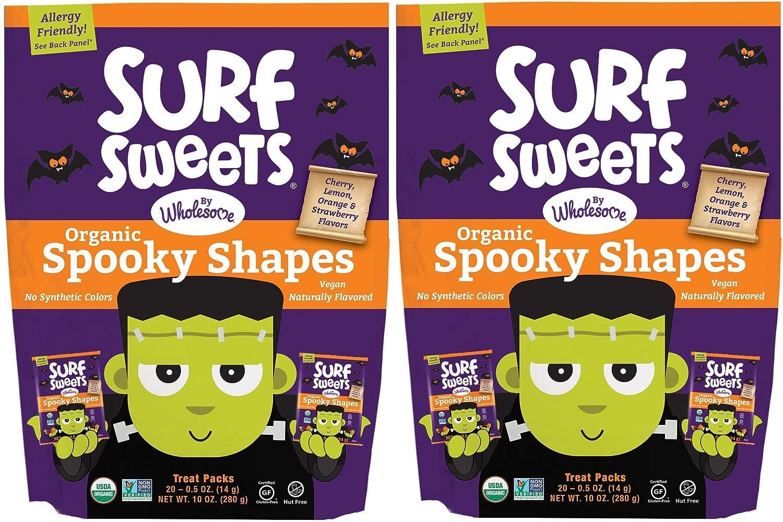 Surf Sweets bocadillos de frutas orgánicas por Wholesome ...