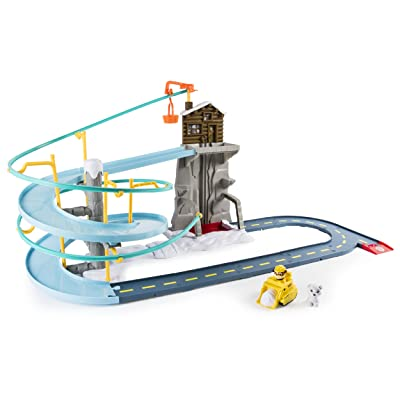 Paw Patrol Roll Patrol – Rubble's Mountain Rescue Track Set: Toys & Games