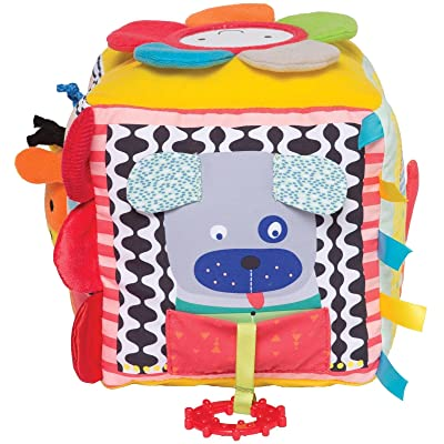 Manhattan Toy Little Explorer Activity Cube Baby Toy: Toys & Games