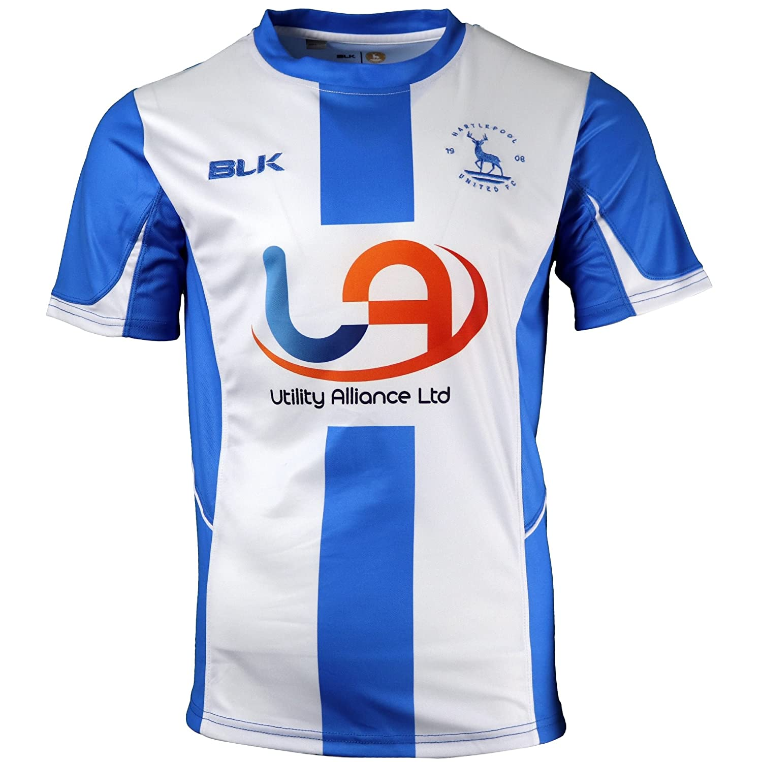 Hartlepool United FC Official Men's Home Shirt 2017-2018 BLK