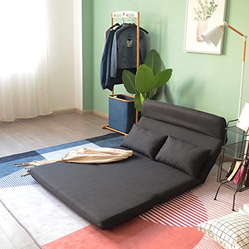 Floor Sofa POCATOY Folding Lazy Sofa Chair