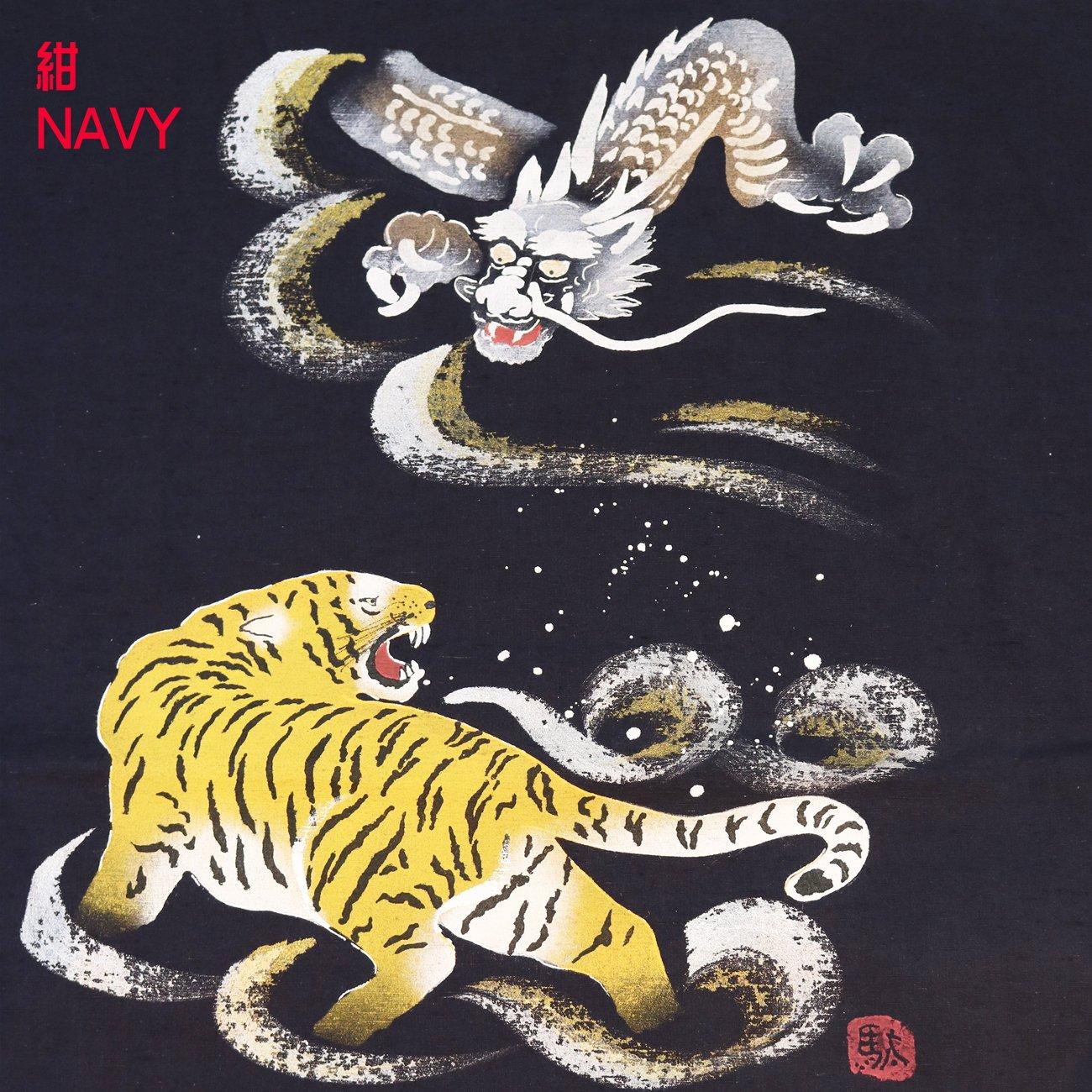 Surugajino Samueya Samue hand-painted141-1907k-3-ryuuko
