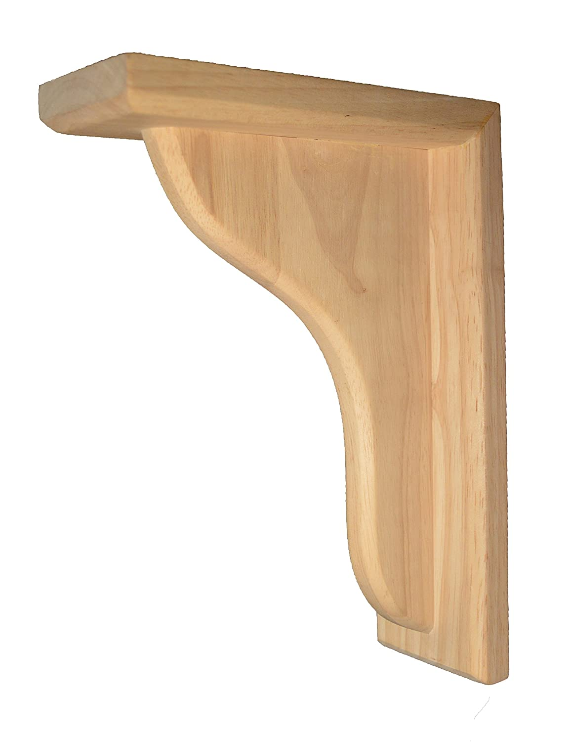 BingLTD- Corbel Rustic Solid Hardwood Bracket -Set of 2 (C6)