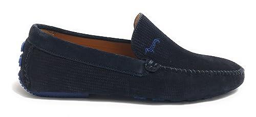 Harmont & Blaine Mocasines de Ante Para Hombre Azul Navy Size: 39 EU