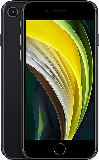 Apple iPhone SE, 64GB, Black - Fully Unlocked (Renewed)
