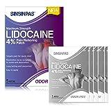 SINSINPAS Maximum Strength Lidocaine 4% Pain