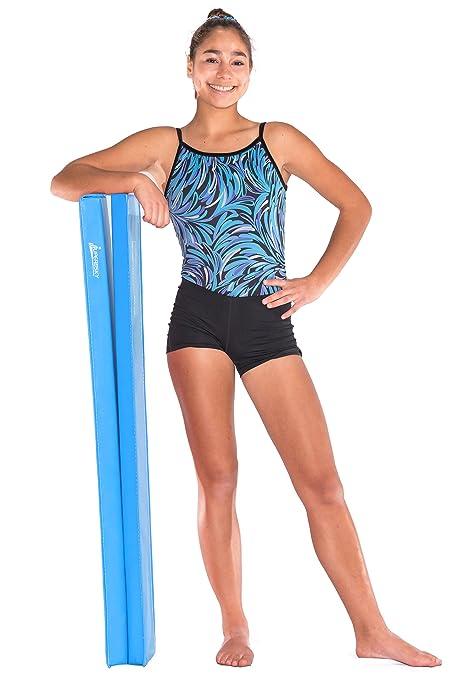 amazon com juperbsky 8ft balance beam for kid s gymnastics