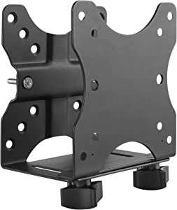 HumanCentric Thin Client Mount Bracket | Mount a Mini PC or Computer to a VESA Monitor Arm or Stand, Pole, or Under Desk or Surface