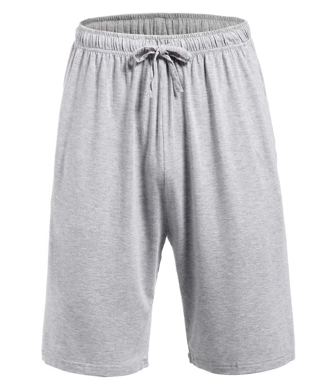 Latuza Men's Pajama Bottom Shorts XL LightGray