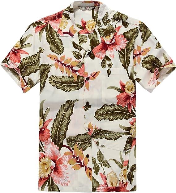 Par a Juego Hawaiian Luau Outfit Aloha Camiseta y Camiseta sin Mangas en Rafelsia en 2 Colores