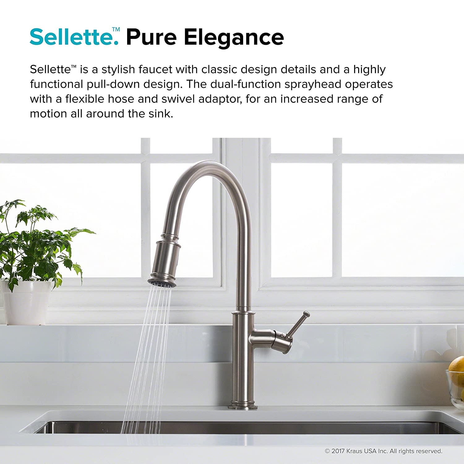 Attractive Kitchen Pull Down Faucet Composition - Kitchen Cabinets ...