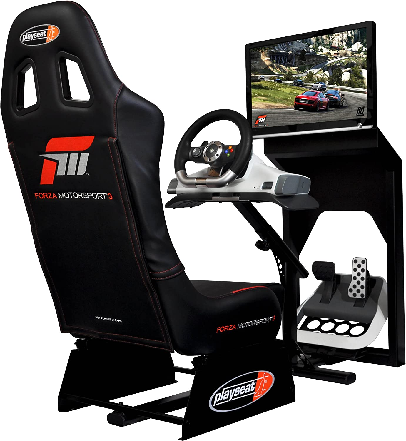 Genial Amazon.com: Playseat Limited Edition Forza Motorsport 3 Evolution Racing  Seat: Video Games