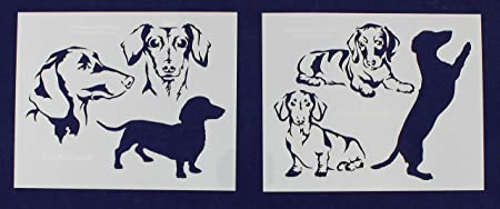 Sausage Dog Shaped Crafting Sets Different Colours /& Sizes Available Packs of 10