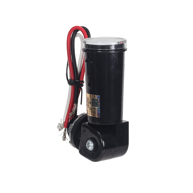 NSi Industries TORK RKP221 Outdoor 120-Volt Stem Mount Photocontrol - Controls Lighting Dusk to Dawn - Compatible with Incandescent/Compact Fluorescent/Halogen/LED