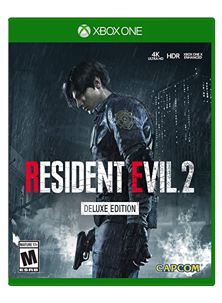Amazon Com Resident Evil 2 Xbox One Deluxe Edition Video Games