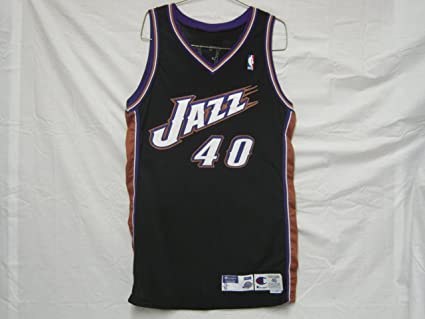 2ad4b7221347 Image Unavailable. Image not available for. Color  1998-99 Utah Jazz  40 Shandon  Anderson Game Worn Jersey