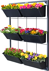 Garraí Vertical Garden Wall Planter - Wall Mounted Hanging Planter for Flowers, Vegetables or Herb Garden