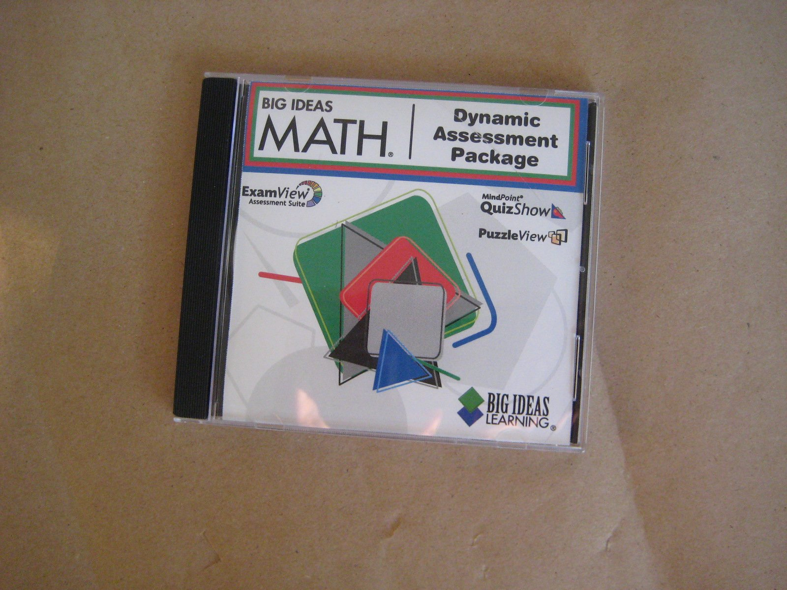 Read Online Big Ideas Math Dynamic Assessment Package CD for Blue, red and Green levels ebook