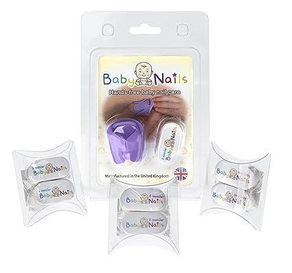 Baby Nails Manos libres Cuidado de uñas del bebé juego de manicura ...