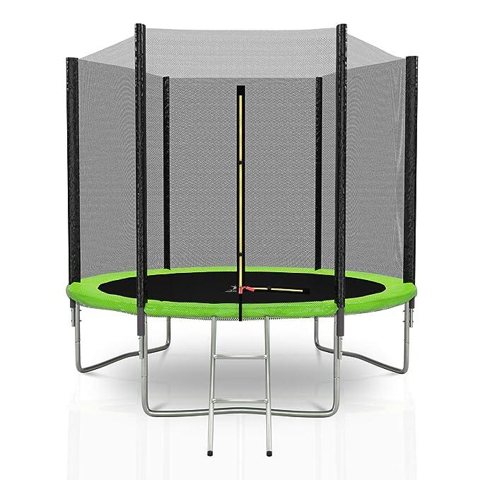 KAIA SPORTS Cama elástica Exterior Deluxe trampolín para jardín ...