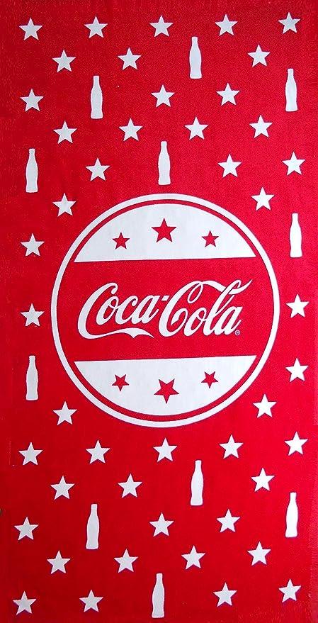 Coca Cola Beach Towel Measures 30 X 60 Inches
