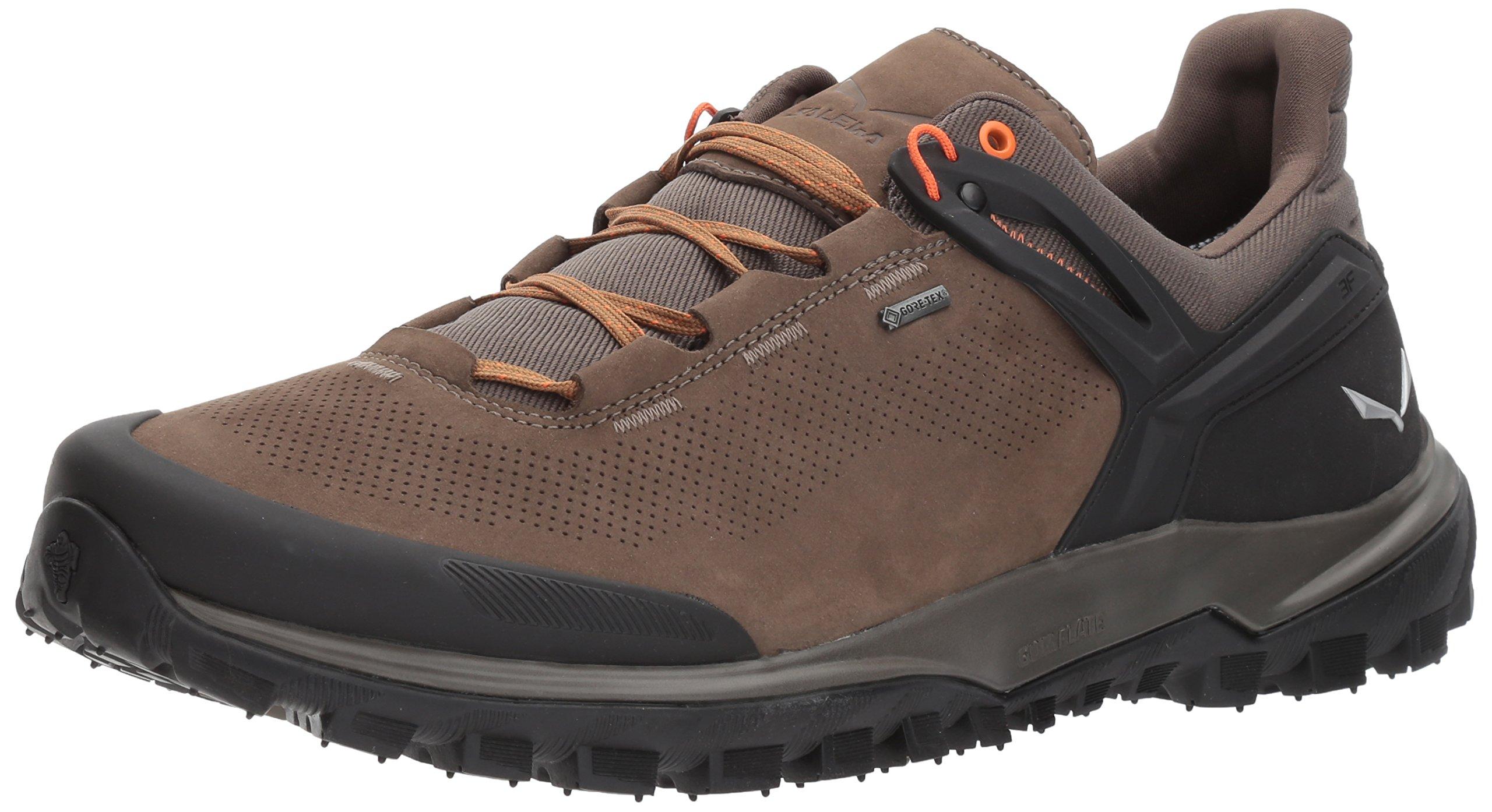 Salewa Men's Wander Hiker GTX Hiking Shoe, Walnut/New Cumin, 10