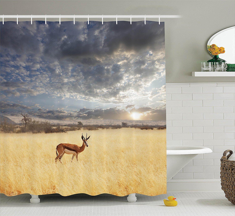 Amazon.com: Mirryderr Safari Decor Collection, Antelope in Bush ...