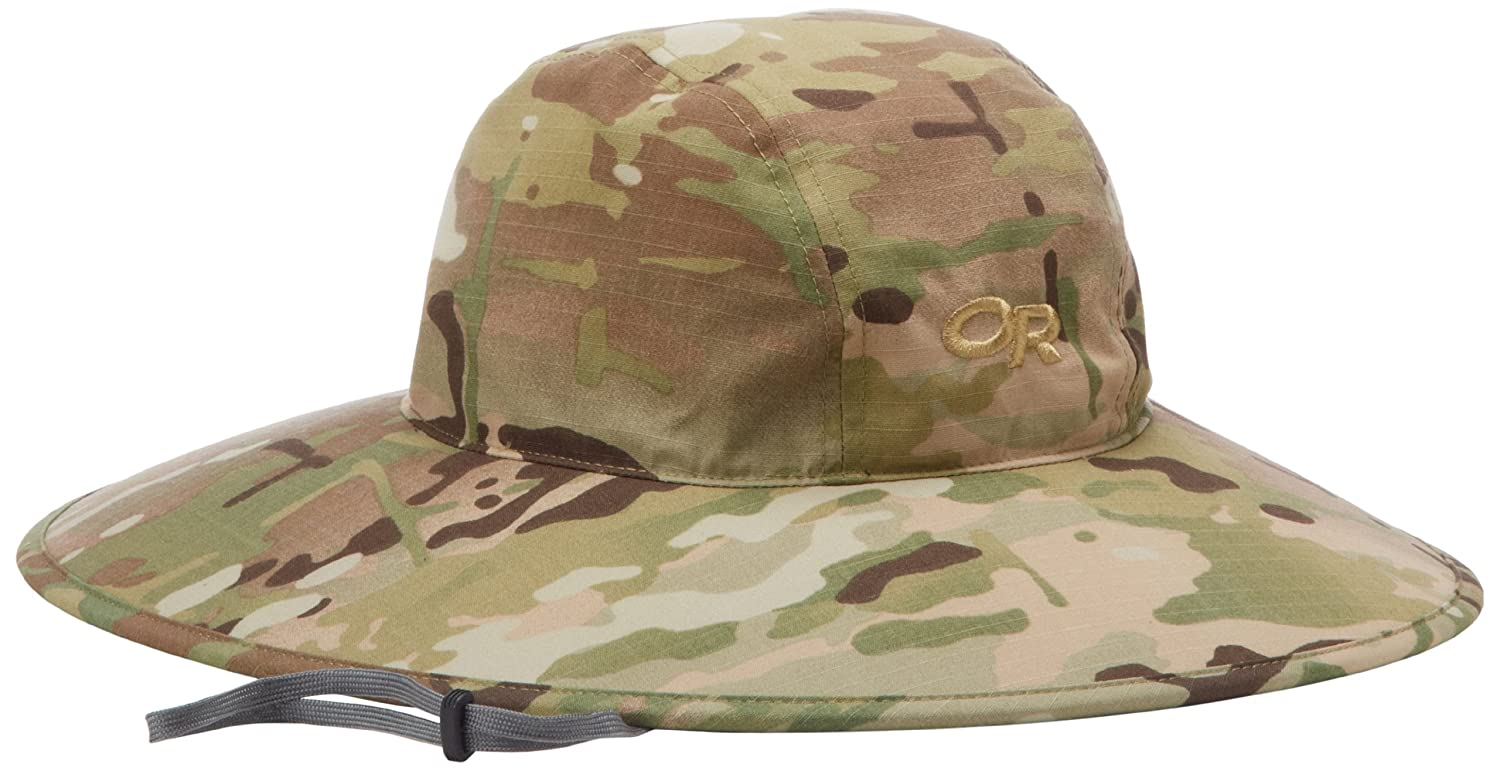 26a02fe01 Outdoor Research Aquifer Sombrero Hat, Multicam