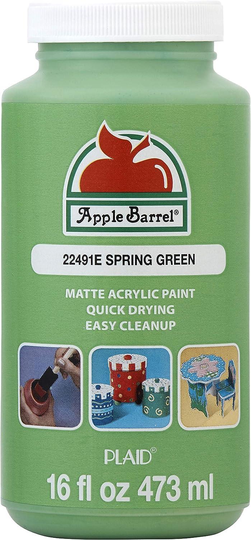 Apple Barrel 22491E ACRYLIC PAINT, 16 oz, Spring Green