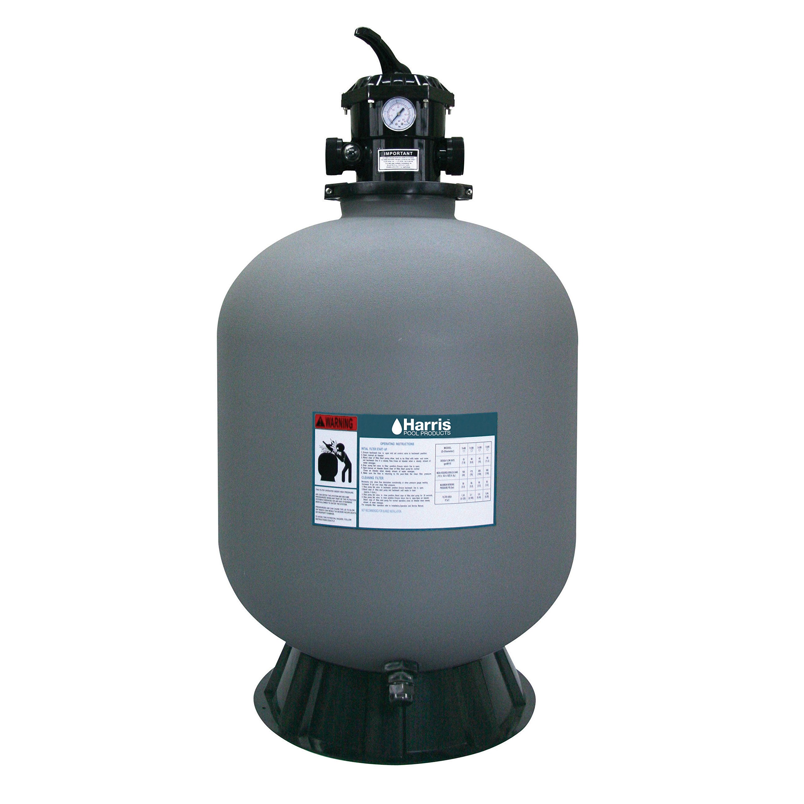 Harris H1573060 Vortex 24 inch Above Ground Sand Filter Tank by Harris Pool Products