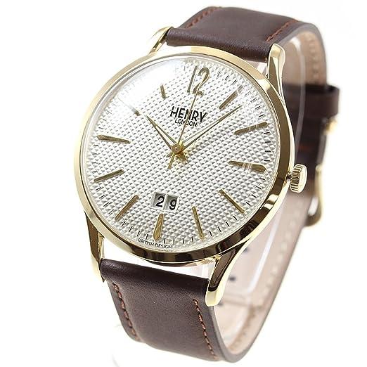 HENRY LONDON - Reloj para hombre y mujer WESTMINSTER HL41-JS-0016: Amazon.es: Relojes