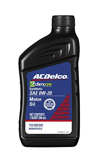 amazon com acdelco 10 9232 professional dexos1 0w 20 synthetic rh amazon com