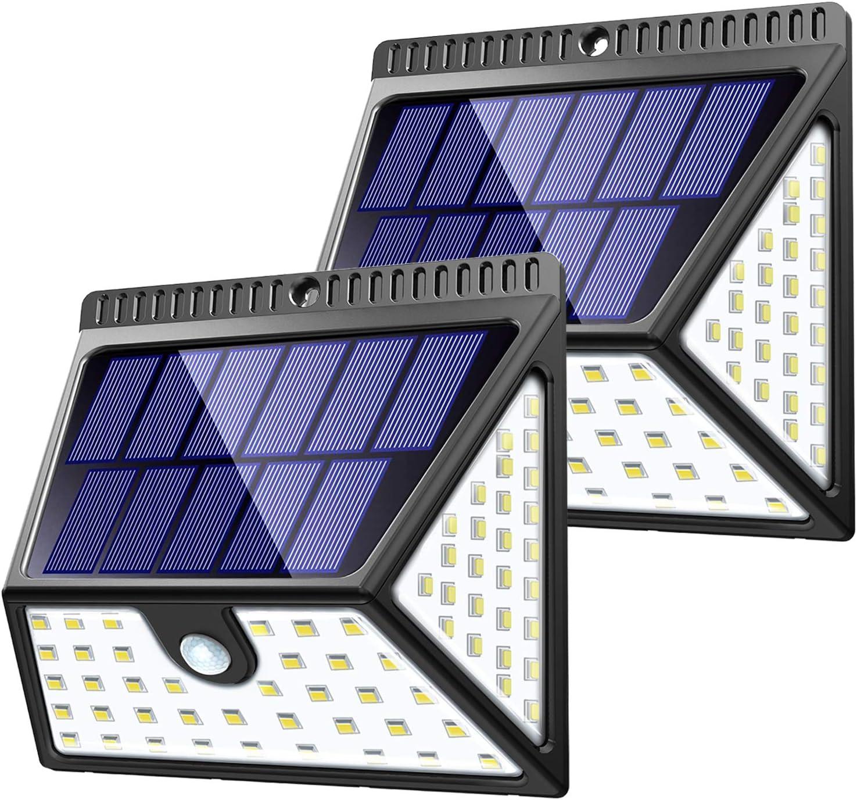LED Waterproof Solar Power Motion Sensor Wall Light Outdoor Garden Yard Lamp