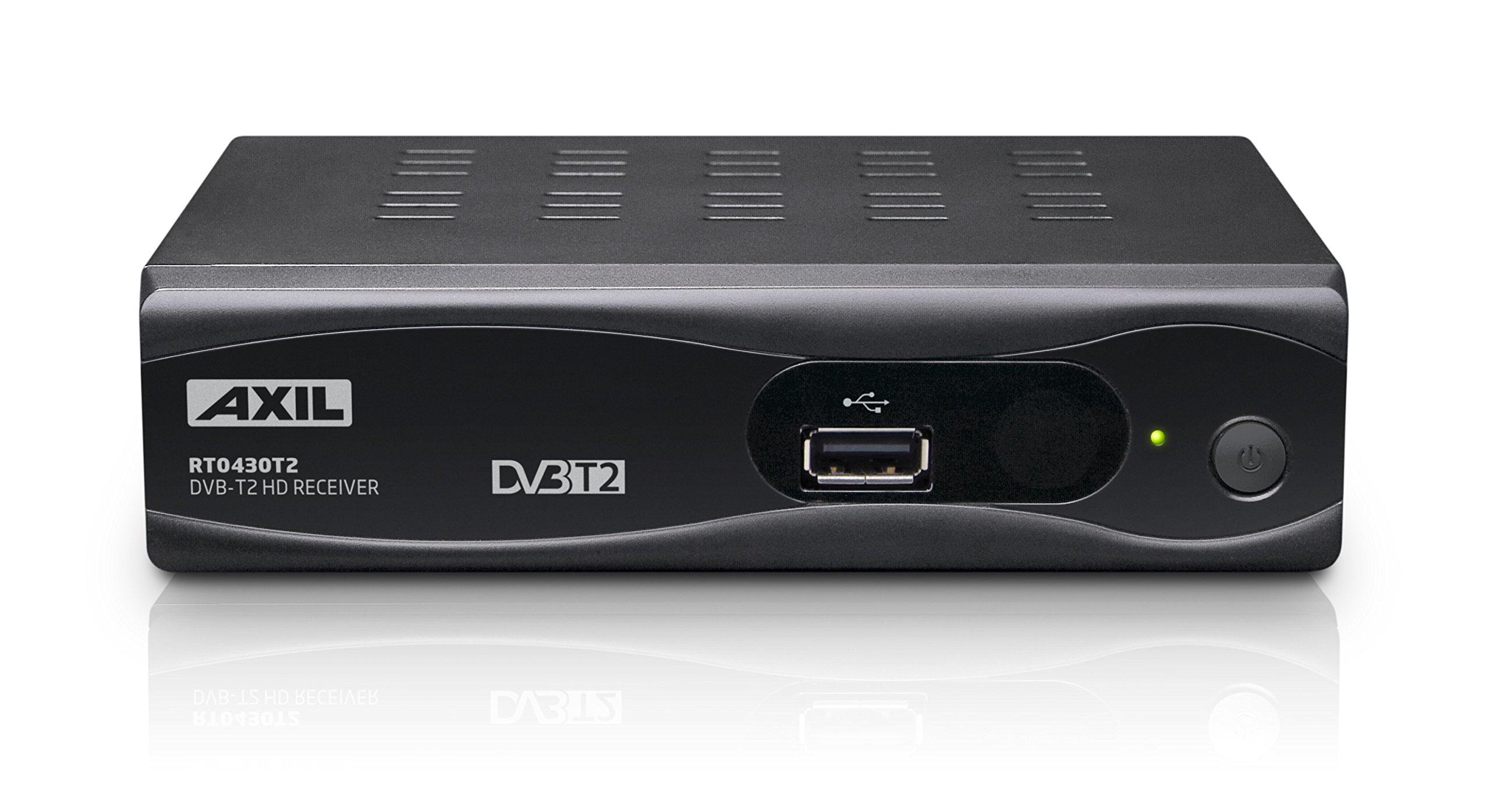 Engel Axil RT0430T2 - Receptor TDT (DVB-T2, HD, SCART, PVR