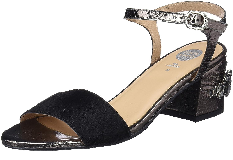 Gioseppo 44947, Zapatos de Tacón con Punta Abierta para Mujer 36 EU