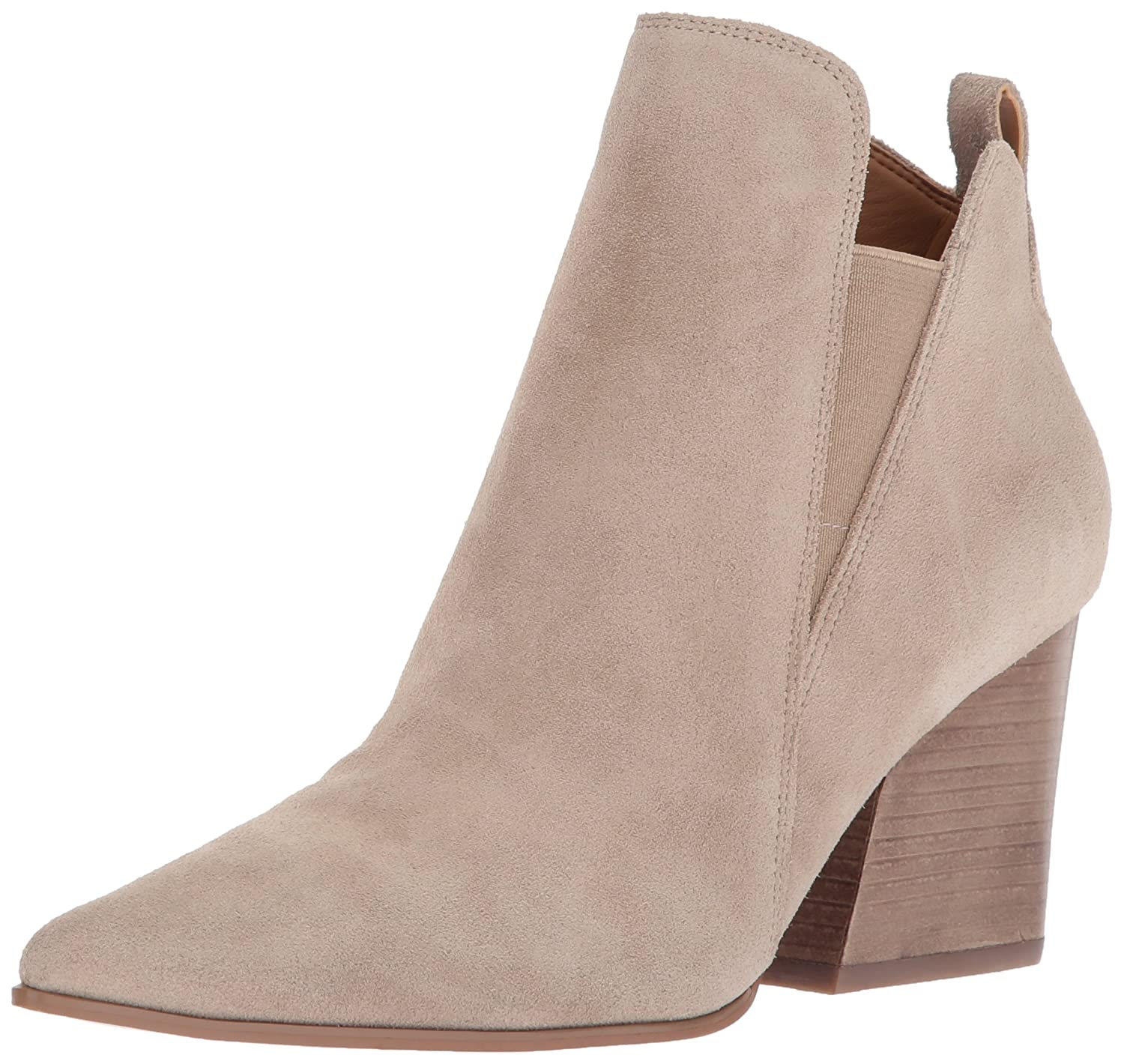 KENDALL + KYLIE Women's Fox Ankle Boot B071V8GNRM 8.5 B(M) US|Walnut