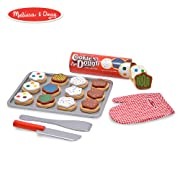 Melissa & Doug Slice-and-Bake Wooden Cookie Play Food Set, Pretend Play, Materials, 28 Pieces, 10.5  H x 13.5  W x 3.25  L
