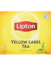 Lipton Yellow Label Black Tea 100 Count