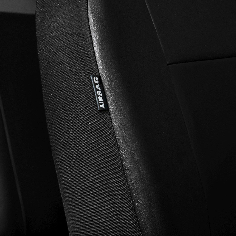 Sitzbezüge Sitzbezug Schonbezüge für Toyota Prius Schwarz Modern MP-1 Set