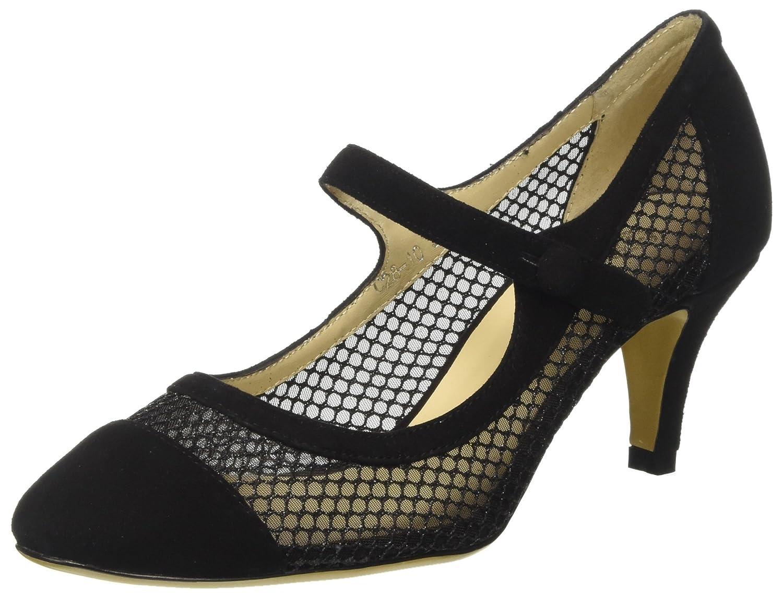 TG.36 CINTI C2810 Scarpe Col Tacco con Cinturino alla Caviglia Donna